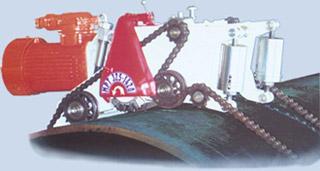 Машина для безогневой резки труб