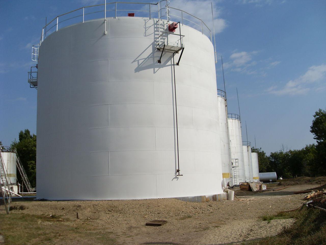 Резервуар вертикальный стальной (РВС)