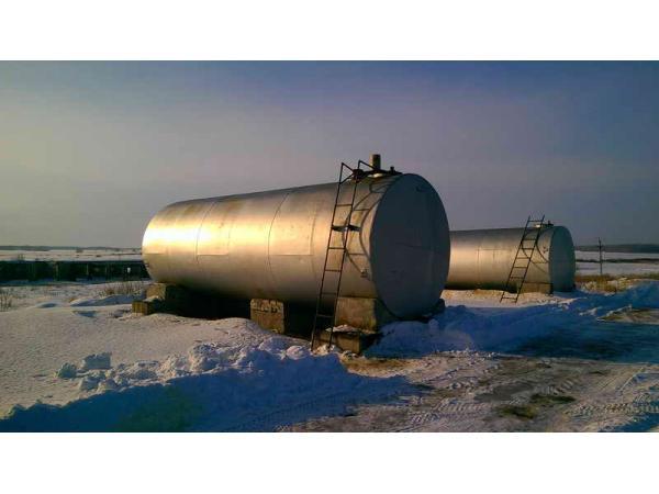 Резервуар горизонтальный стальной РГС